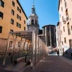 Las rampas mecánicas del casco antiguo de Vitoria-Gasteiz