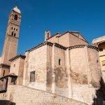 La iglesia de Santa María Magdalena en Tarazona