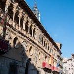 La fachada del Ayuntamiento de Tarazona