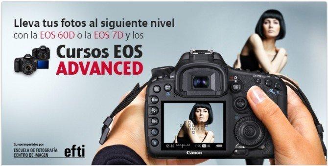 Cursos de fotografía avanzada en EFTI al comprar tu Canon EOS