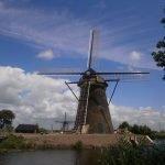 Los molinos de Kinderdijk en Holanda