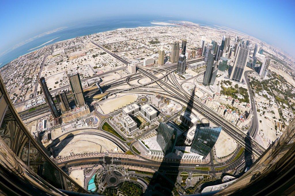 Volar a Dubái para hacer fotos de lugares impresionantes