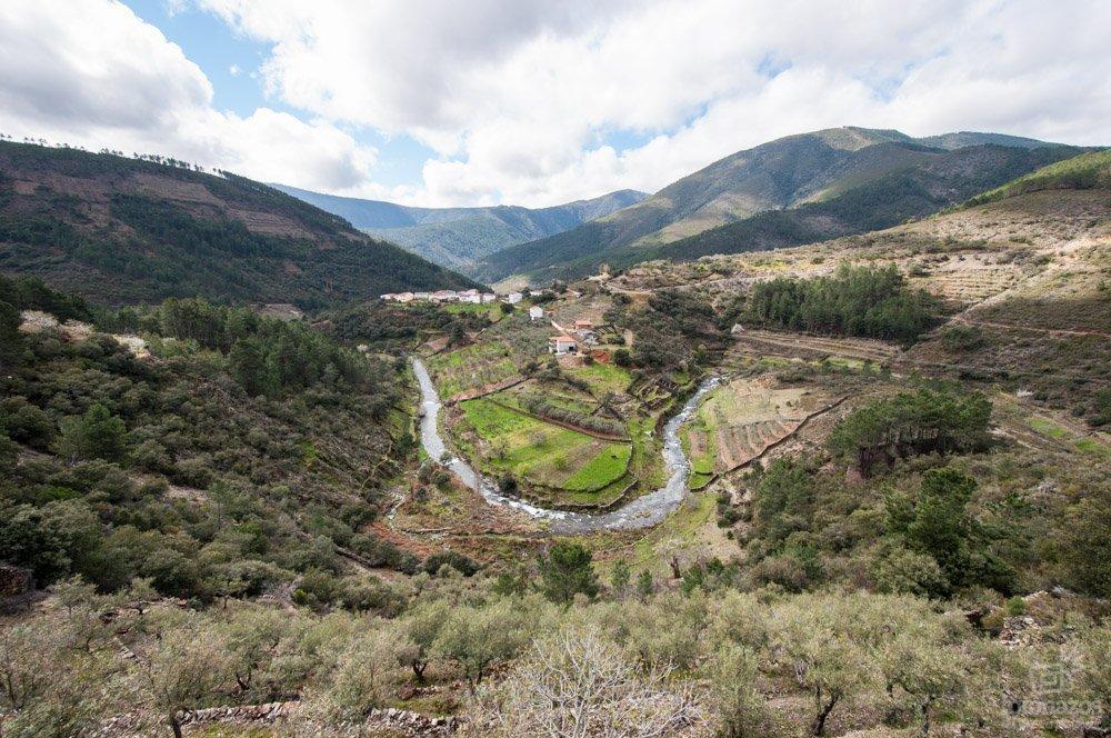 Meandros del río Esperabán