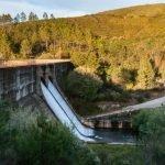 La presa de Las Tapias en las Hurdes