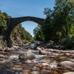 Las piscinas naturales de la Garganta de Alardos en Madrigal de la Vera