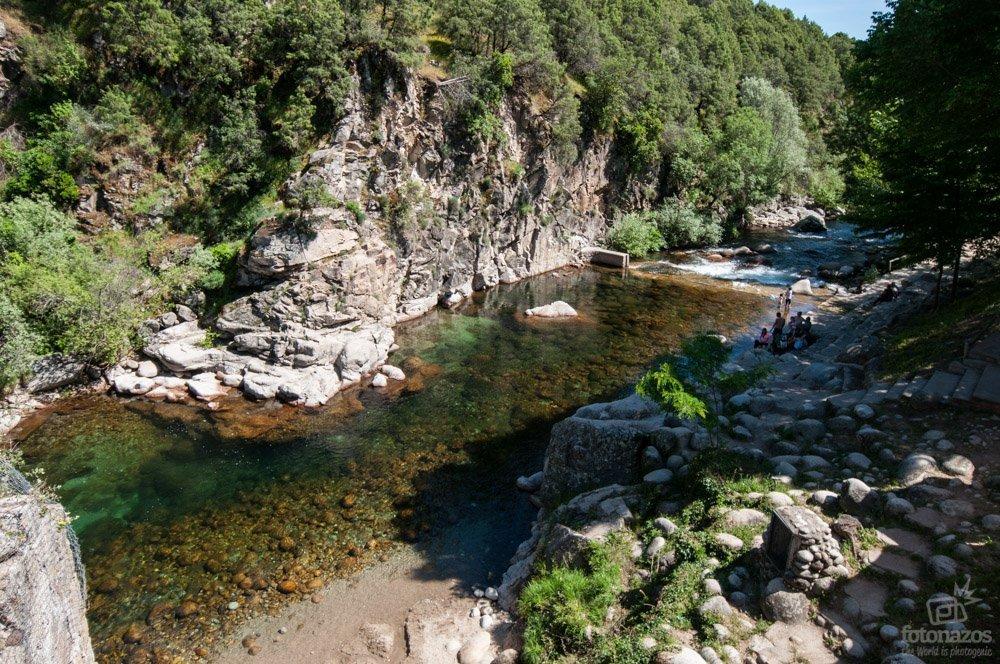 6 gargantas y piscinas naturales donde ba arse en la vera for Piscinas naturales extremadura