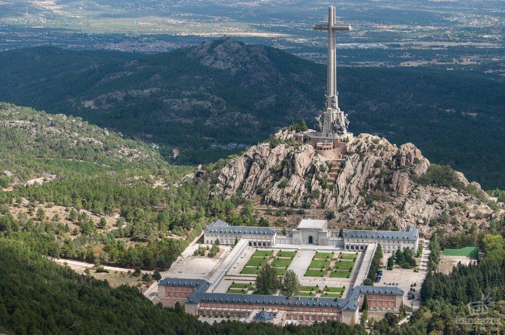 El Mirador de la Naranjera y las vistas del Valle de Cuelgamuros