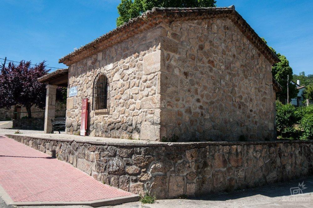 La ermita del Cristo en Villanueva de la Vera