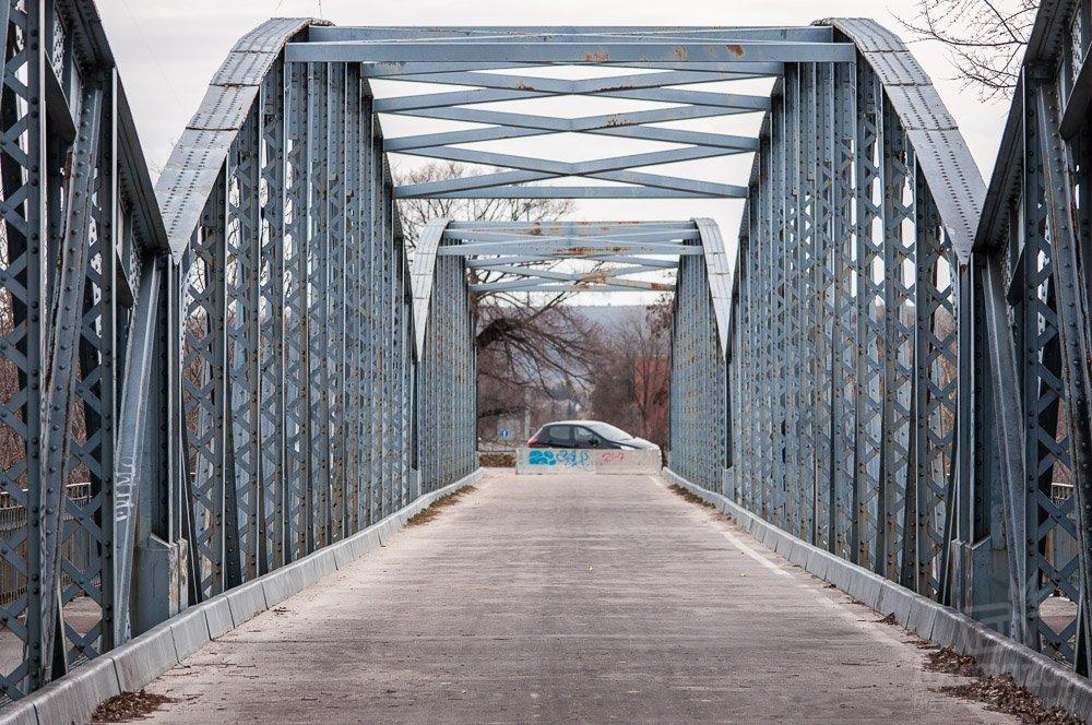 El Puente de Hierro de Arganda