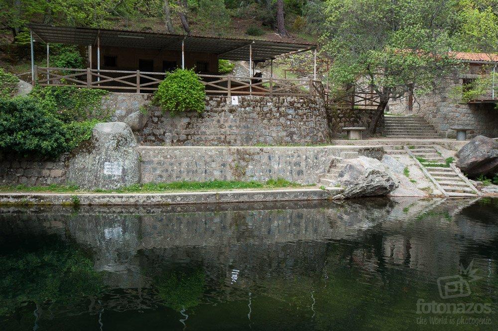 la charca de la nieta las piscinas naturales de piedralaves