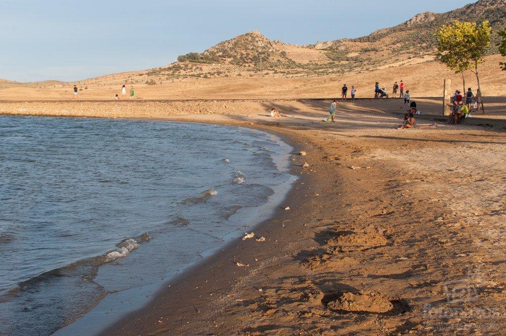 La playa de Peñalsordo