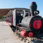 El tren de Praia do Barril en Tavira, Algarve