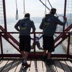 Goming desde el Puente Colgante de Vizcaya