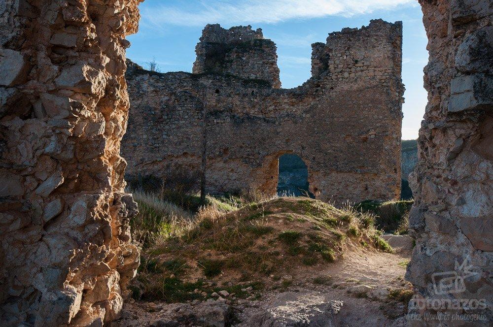 Las ruinas del Castillo de Pelegrina