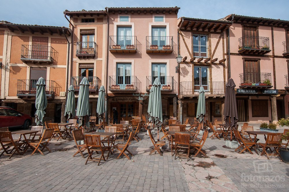 La Plaza Mayor de Ayllón