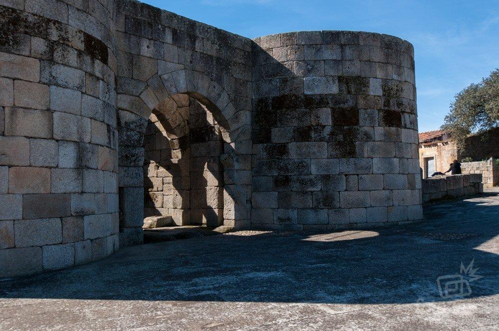 La muralla romana de Idanha-a-Velha