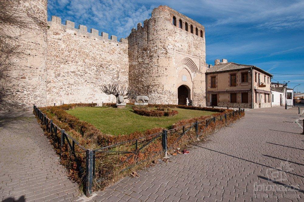 Puerta de la Villa de Coca