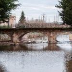 El río Aguisejo a su paso por Ayllón