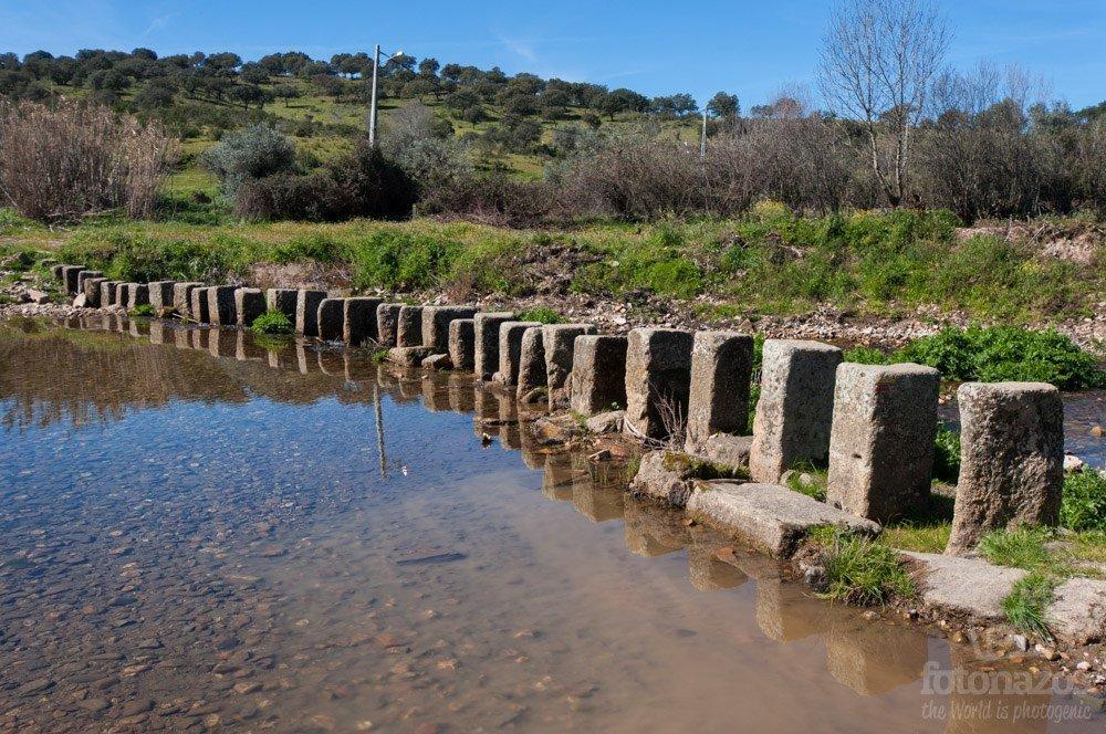 """Las """"Poldras"""" sobre el río Ponsul en Idanha-a-Velha"""