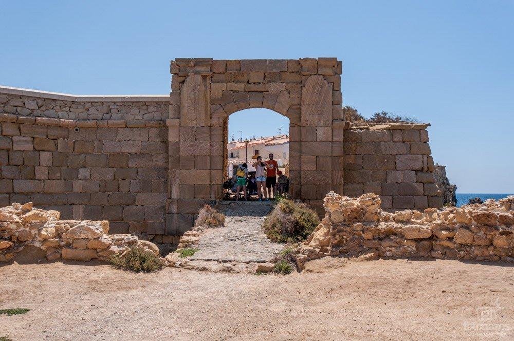 La Puerta de San Gabriel en la isla de Tabarca