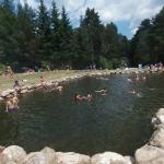 Las piscinas naturales del Chorro de Navafría, Segovia