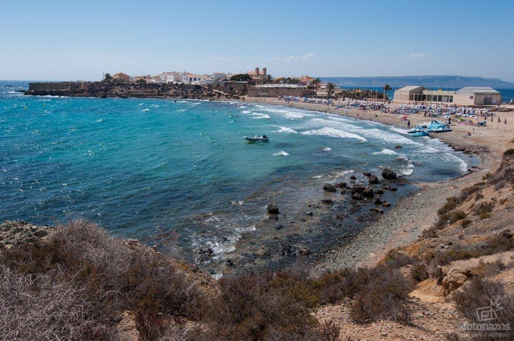 La Playa de la Isla de Tabarca