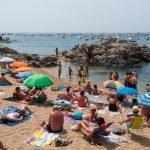 Playa d'en Calau en Calella de Palafrugell