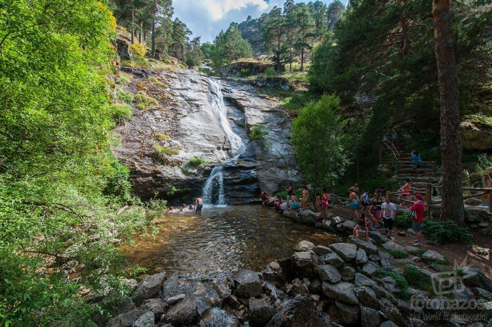 Cascadas y Chorreras en la Sierra de Guadarrama