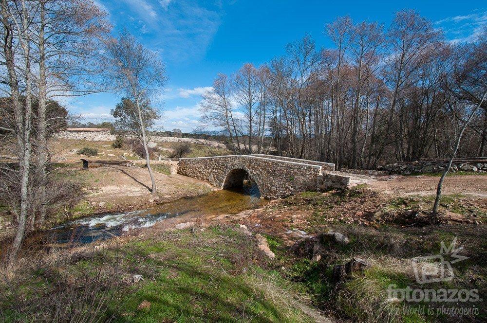Puente Romano entre Sieteiglesias y El Berrueco