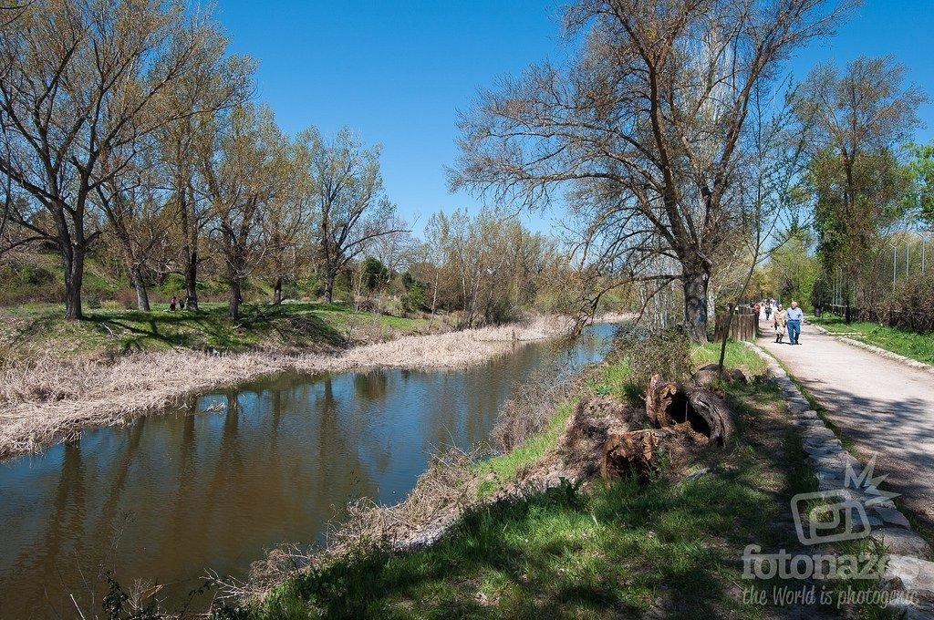 Ruta por el corredor ambiental del río Manzanares hasta el embalse de El Pardo