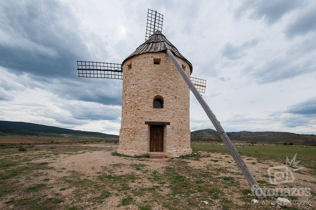 El molino de viento de Alustante