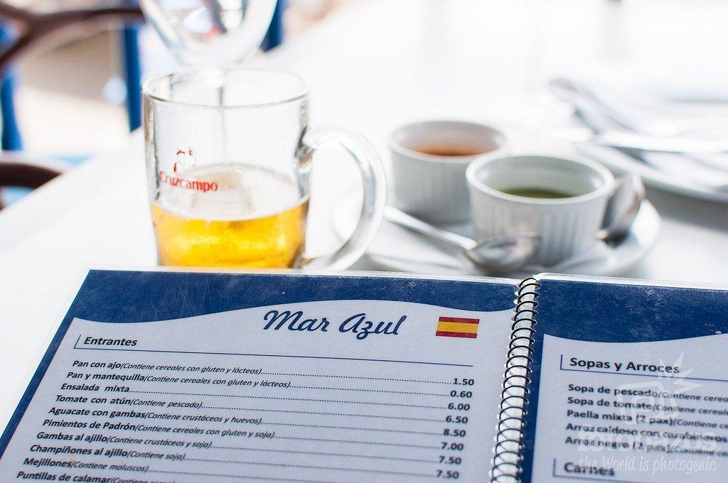 Restaurante Mar Azul en el Golfo