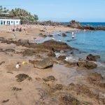 Playa Chica o Pila de la Barrilla en Puerto del Carmen
