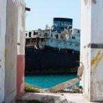 Temple Hall, el barco hundido cerca del puerto de Arrecife, Lanzarote