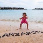 4 Playas para ir con niños en Lanzarote