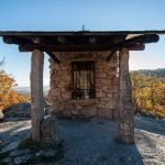 Mirador de la ermita de San Blas en Miraflores de la Sierra