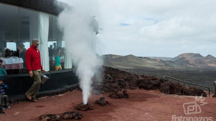 Restaurante El Diablo, barbacoa con sabor a volcán en Timanfaya
