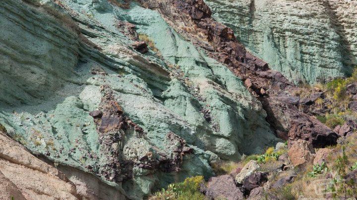 Los Azulejos de Veneguera en Gran Canaria