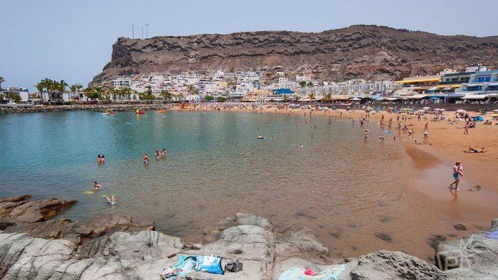 Mogán, una playa para ir en familia en Gran Canaria