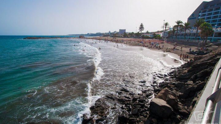 Playa de las Burras en San Bartolomé de Tirajana, Gran Canaria