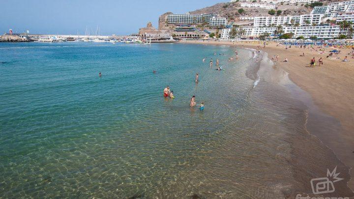 La Playa de Puerto Rico en Gran Canaria