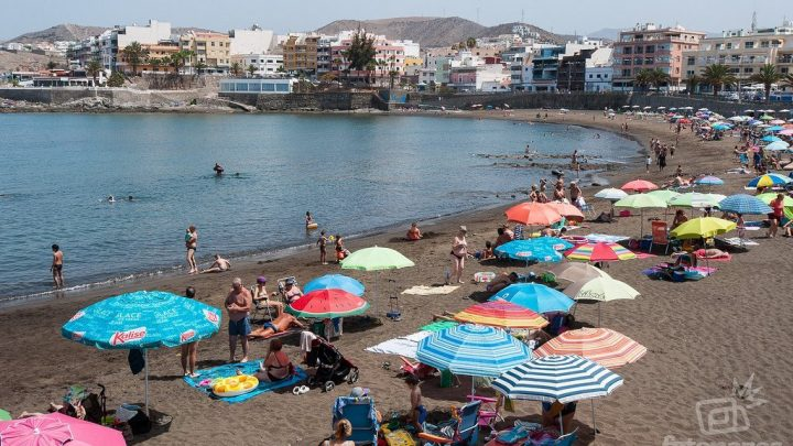 La Playa de las Marañuelas en Arguineguín, Gran Canaria