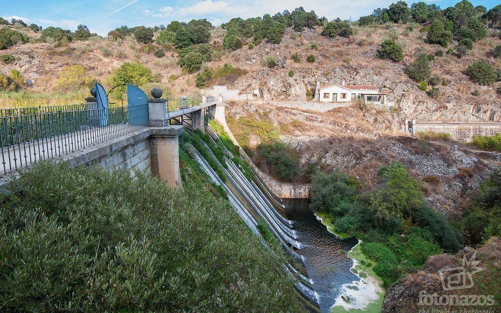 La presa vieja del río Aulencia, el embalse de Valmenor en Valdemorillo