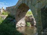 Puente del Batán o Puente Nuevo sobre el río Manzanares en Colmenar Viejo