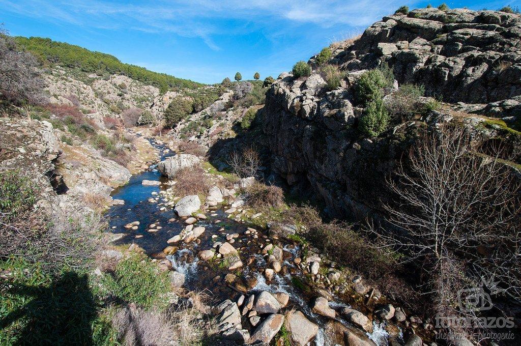 Ruta por el Cañón del Río Aceña en Santa María de la Alameda