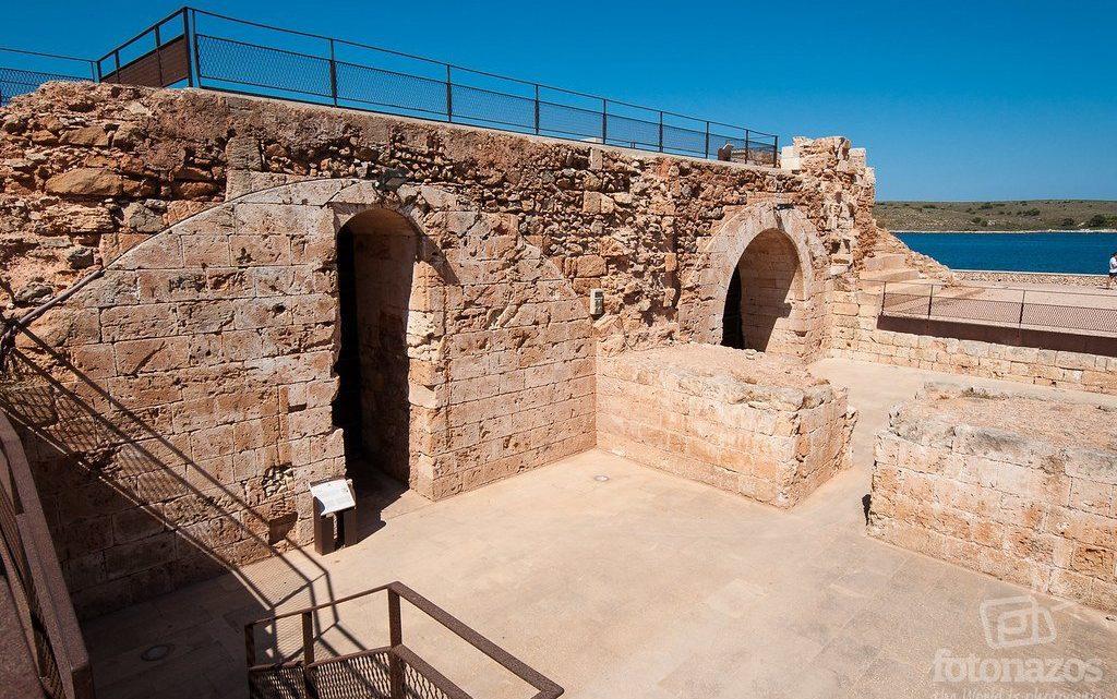 El Castillo de San Antonio en Fornells, Menorca