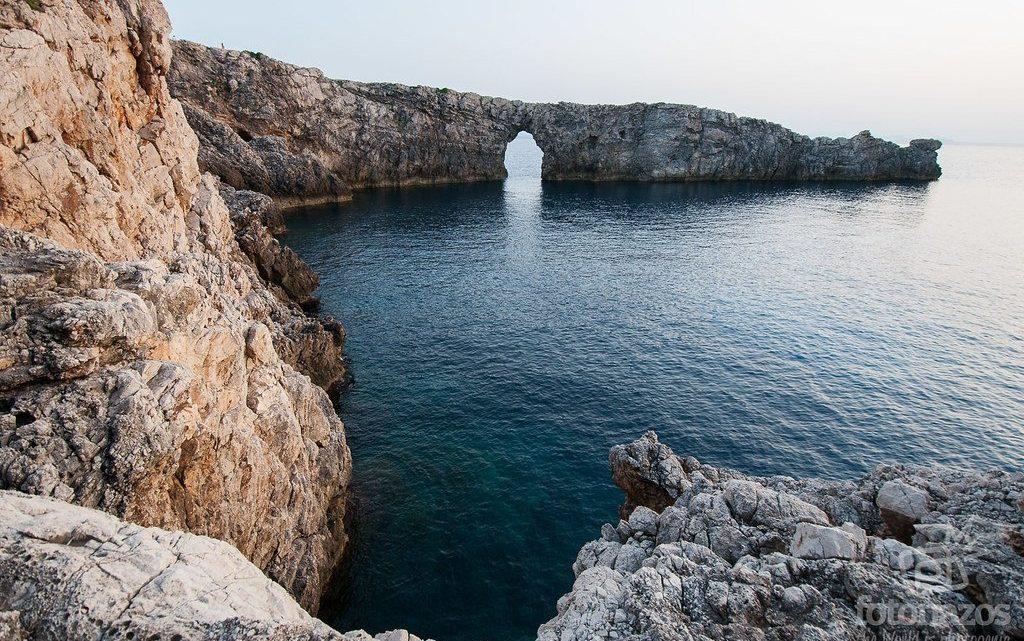 Atardecer desde Pont d'en Gil en Menorca