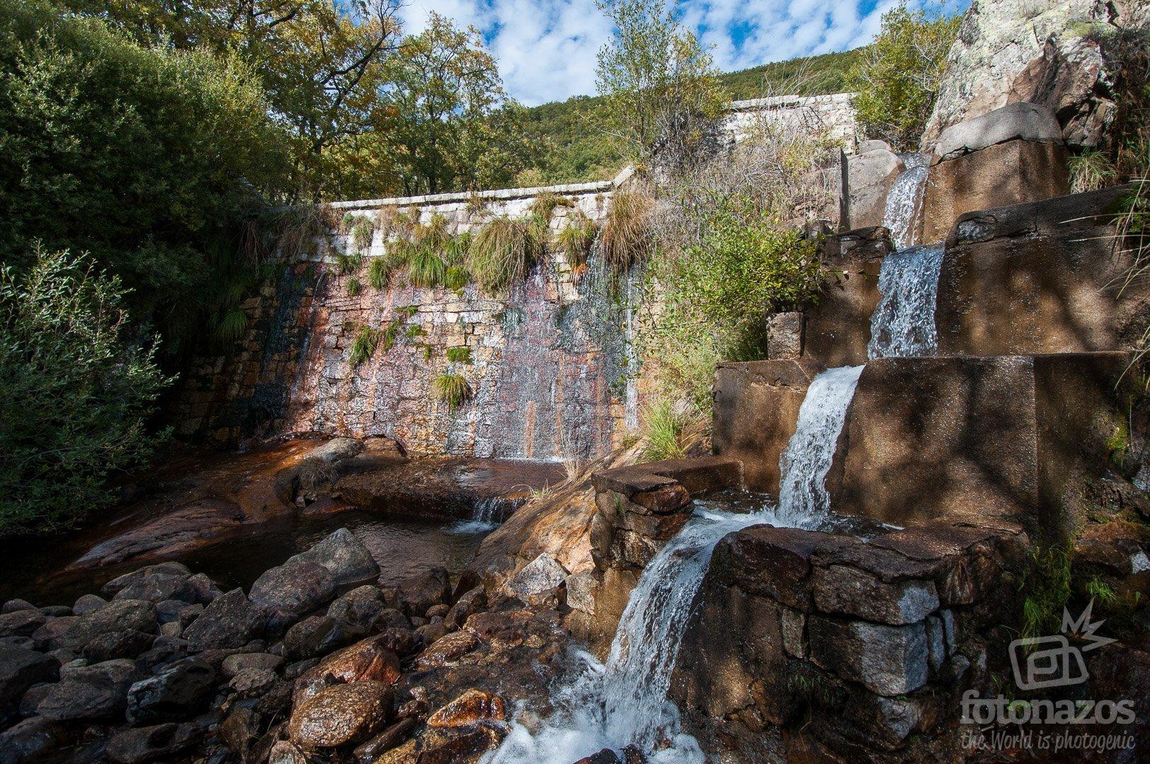 Ruta a la presa del arroyo Artiñuelo en Rascafría