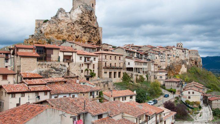 Mirador El Peñasco en Frías, Burgos