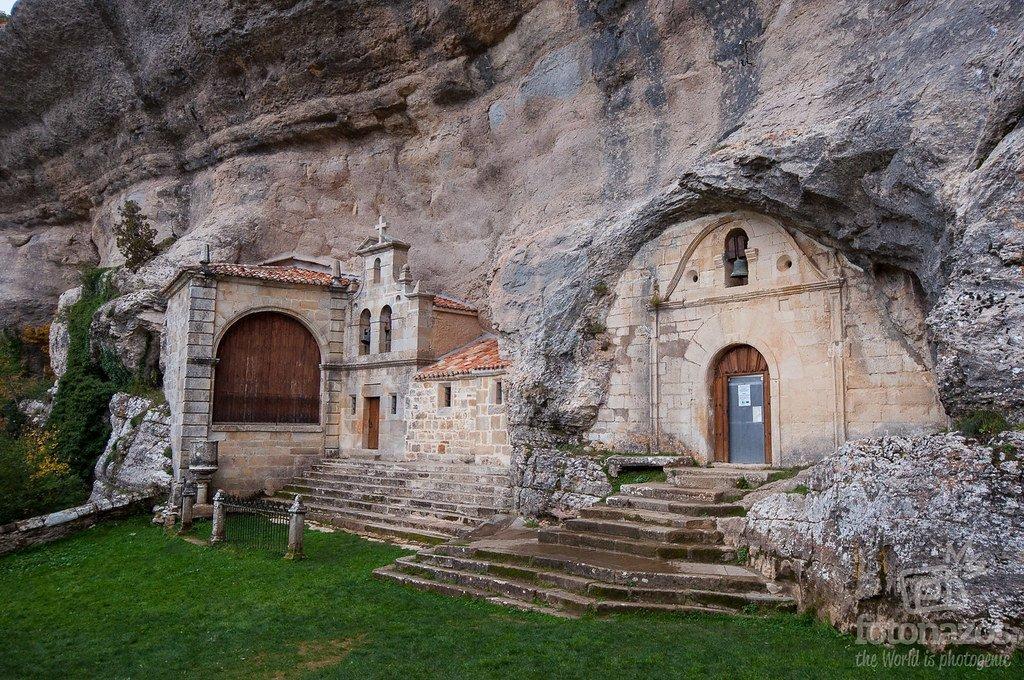 Cueva Ermita de San Bernabé - Monumento Natural de Ojo Guareña
